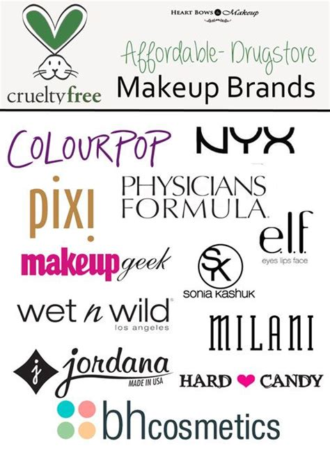 Make Up Brand Makeover 25 best ideas about makeup brands on makeup brands list cheap makeup brands and