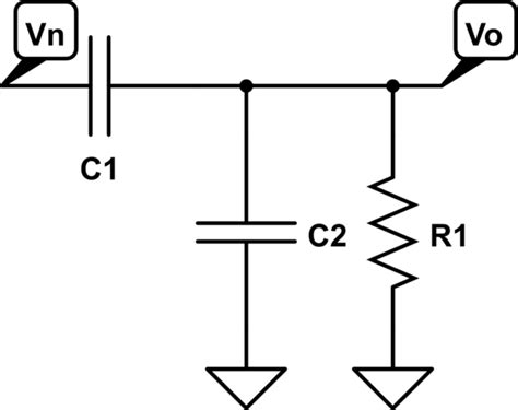 voltage divider for capacitor capacitor rc voltage divider electrical engineering stack exchange