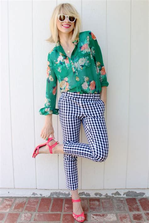 pattern mixing outfit ideas best prints for spring fashion glam radar