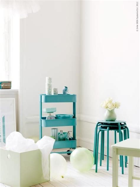 Ikea Raskog ikea r 197 skog kitchen trolley turquoise pr 196 nt box with lid painted light pistacchio marius