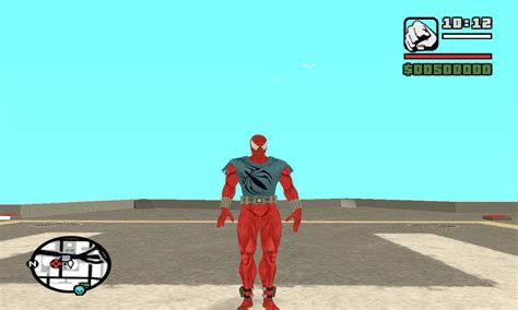 gta san andreas spiderman mod game free download for pc scarlet spider ped file mod db