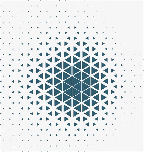 pattern vector free geometric business blue triangular pattern vector png geometric