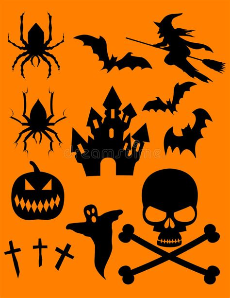 halloween themes vector halloween theme vector images clip art stock vector