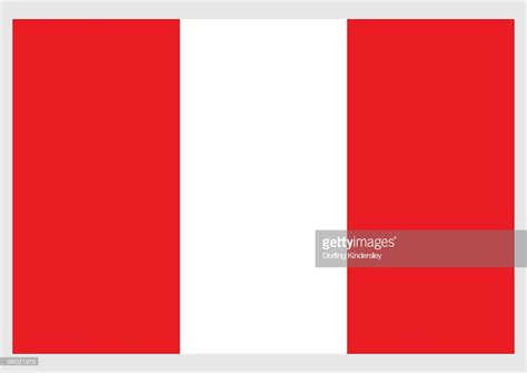 flags of the world red and white stripes illustration of flag of peru with three vertical bands of