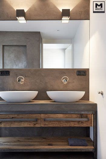 badkamermeubel hout en staal trots op dit door ons ontworpen en gemaakte