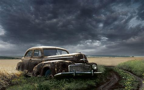 classic landscape wallpaper wallpapers old cars wallpaper cave