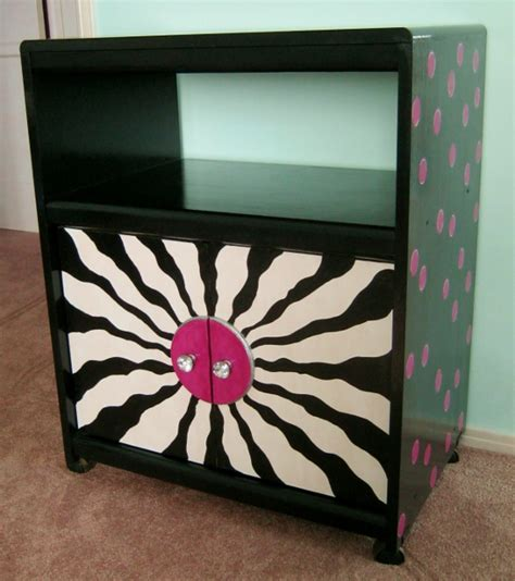 Unique Cabinet Doors Whimsical Painted Furniture Ideas Painting Diy Lynda Makara