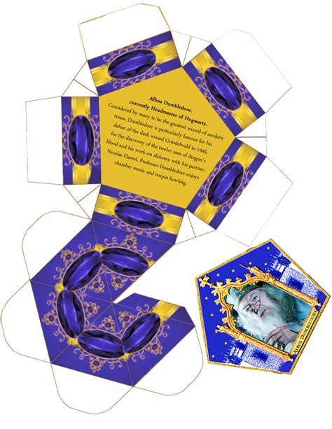 Harry Potter Chocolate Frog Card Template by Dumbledore S Army Hq Chocolate Frog Box Template