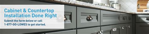 cabinet countertop installation services from lowe s