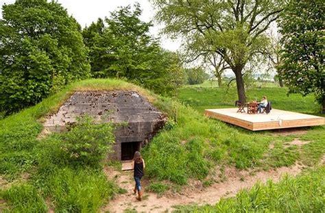 Conversion Design Idea Transforming Military Bunker into