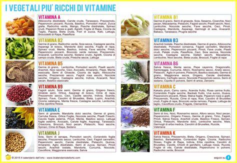 alimenti ricchi di vitamine b i vegetali pi 249 ricchi di vitamine alimentazione
