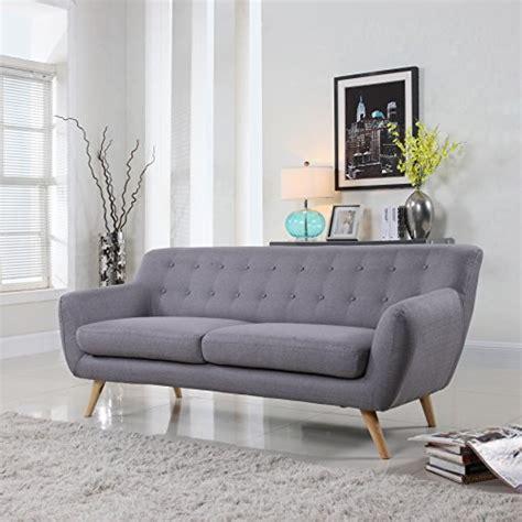 mid century modern grey sofa mid century modern style sofa seat grey