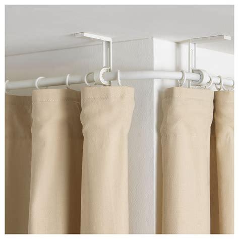 ikea curtain rod r 196 cka curtain rod corner connector white ikea