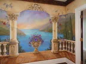 Custom Made Wall Murals Custom Mural Mediterranean Mural Decorative By Mariasideasart