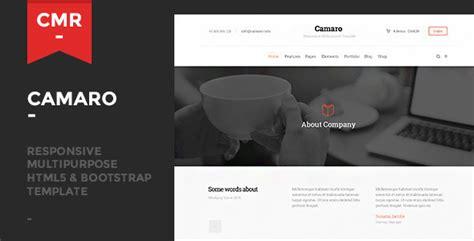 themeforest yokko camaro responsive multipurpose template theme for u