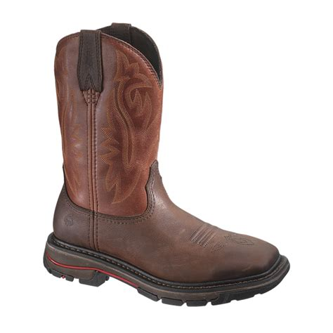 Wolverine From Square wolverine javelina square toe wellington work boot w02784