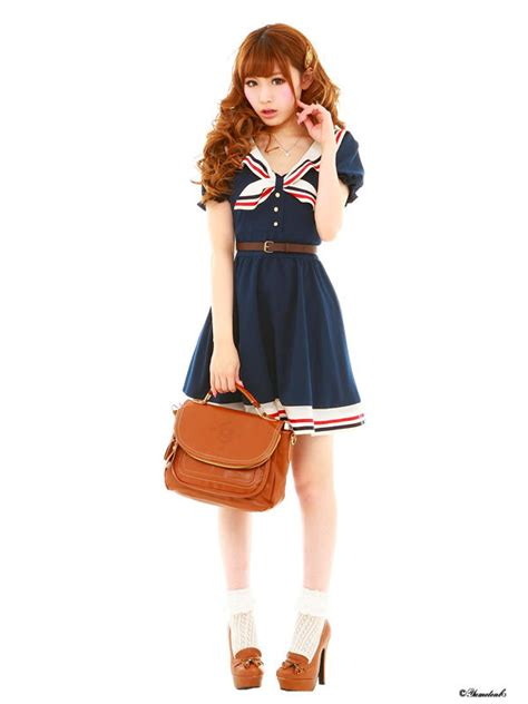 Costume Heavenly School Japanese Dress 8 costume japanese school navy sailor dress