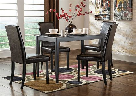 murano s furniture staten island ny shore extension murano s furniture staten island ny kimonte rectangular dining table w 4 brown chairs