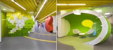oficinas llenas de color  pixeles del buscador yandex decoracion del hogar