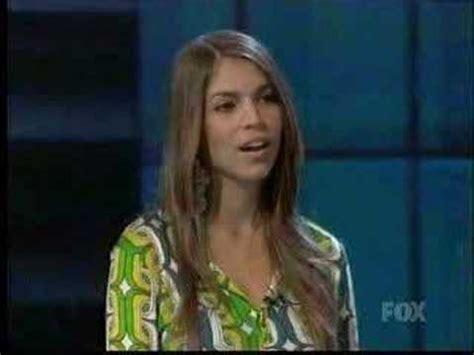Antonella Barba Speaks Out On Idol Ouster by Idol Antonella Barba Should Go Home