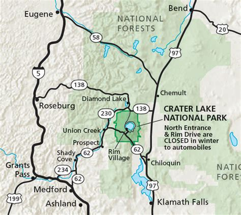 map of oregon national parks maps crater lake national park u s national park service