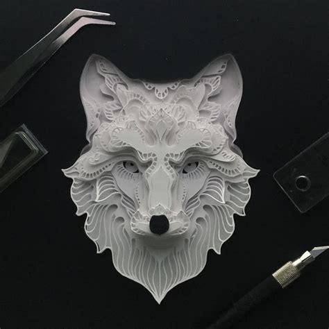 imagenes asombrosas tumblr delicate animal papercuts that i create to explore the