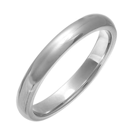 Wedding Rings Silver by Silver Wedding Ring