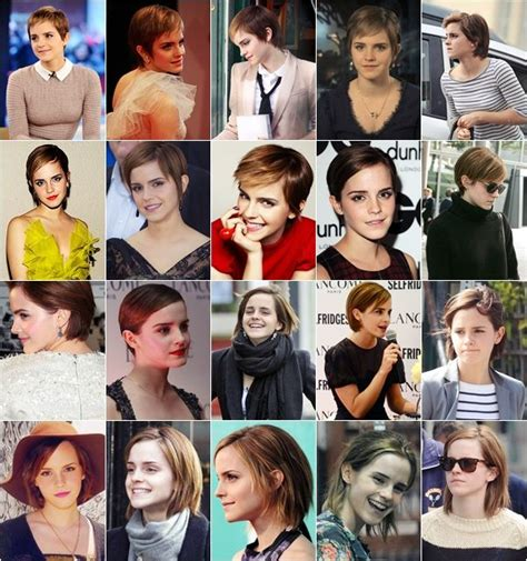 emma watson   awkward stages  growing   pixie   started growing