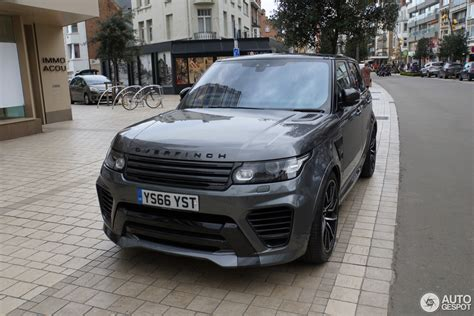 land rover overfinch land rover range rover overfinch gt svr 2 april 2017