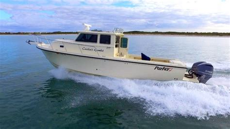 used saltwater fishing boats with cabin 2016 used parker 3420 xld saltwater fishing boat for sale