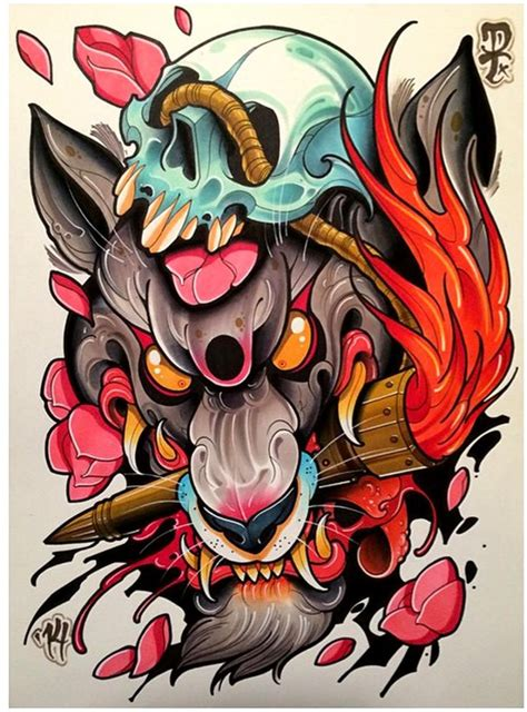 best 25 neo traditional art ideas on pinterest skulls