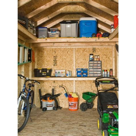 Majestic 8 X 12 Shed by Scianda Detail Shed Building Kits Home Depot