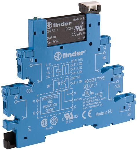 Sparepart Elektronik Transistor A 1049 fin 38 91 24 240 coupling relay 1 closed contact 2a 24vdc 230vac at reichelt elektronik