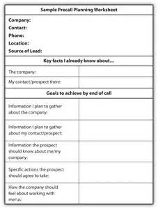 Sales Call Planner Template Smart Goal Setting Worksheet For Teens Viewing Gallery