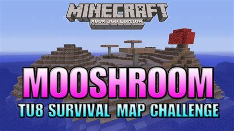 minecraft xbox 360 challenges minecraft xbox 360 quot mooshroom island quot survival challenge