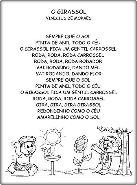 Jardim da Tia Di♥: Poemas infantis   Poesia para educação