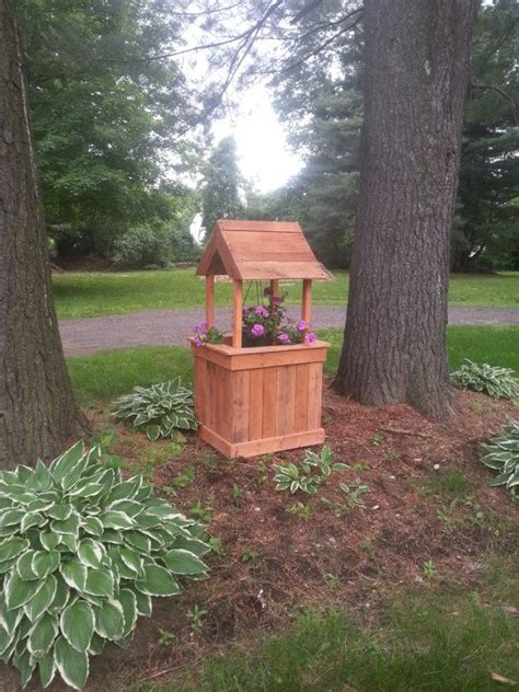 How To Build A Wishing Well Planter by How To Build A Wishing Well Planter Woodworking Projects