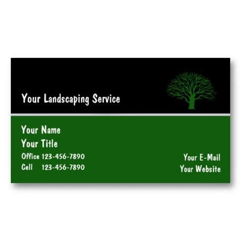 Gardening Services Business Cards Templates by 22 Best Images About Lawn Service Business Cards On