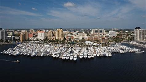 boat show west palm beach 2017 2017 palm beach boat show large yachts for sale news