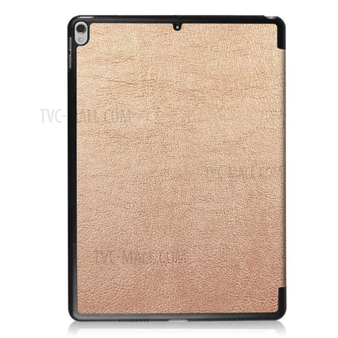 3 Fold Flip Leather Pro 10 5 Gold for pro 10 5 inch 2017 tri fold stand leather