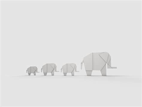 White Elephant Origami - origami elephant by giacko on deviantart