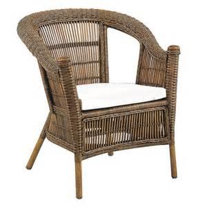 fauteuil osier jardin