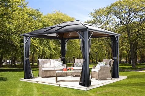 Hardtop Gazebo Hardtop Gazebos Best 2018 Choices Sorted By Size