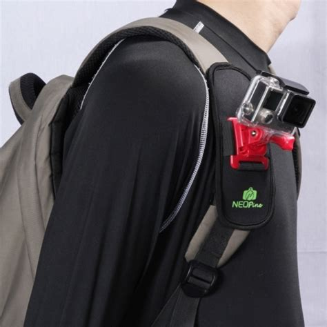 Shoulder Harness For Gopro Sjcam Sj4000 Sj5000 Xiaomi Yi fashionable 360 degree rotation diving material belt shoulder harness for gopro hero4