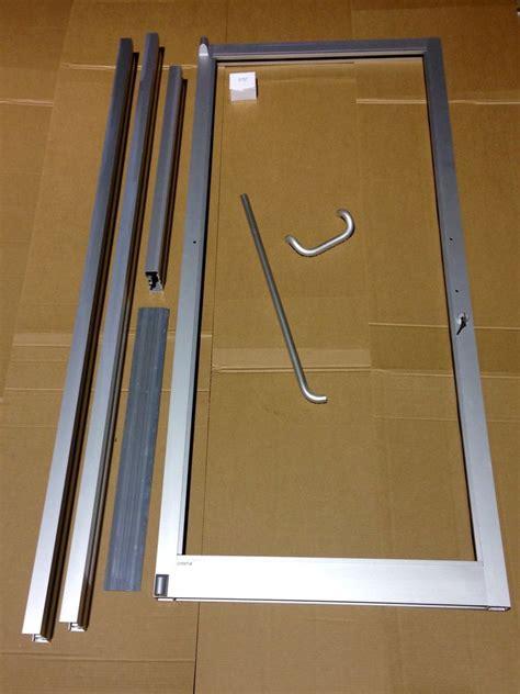 Glass Aluminum Door Glass Aluminum Storefront Door And Frame 3 0 X 7 0 Commercial Grade Ebay