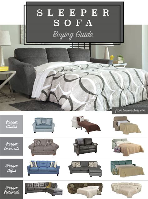 types of sleeper sofas how to choose the best sleeper sofa for you hm etc