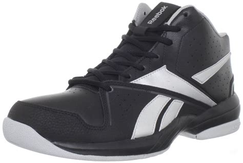 reeboks basketball shoes reebok reebok mens buckets vii basketball shoe in black