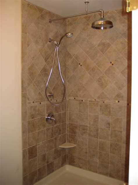 remodeled bathroom showers maryland bathroom realty resurrections project 4
