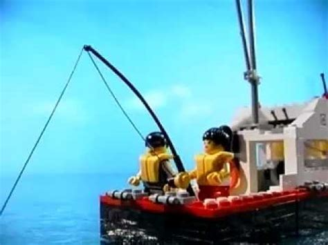 lego boat window lego studios steven spielberg moviemaker set jaws youtube