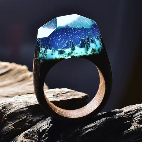 Handmade Wooden Rings - striking handmade wooden rings by secret wood